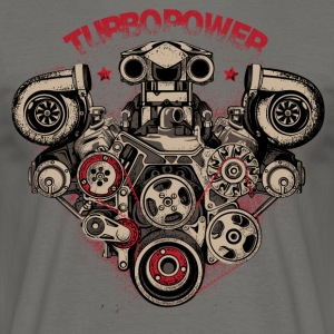turbo power - Men's T-Shirt