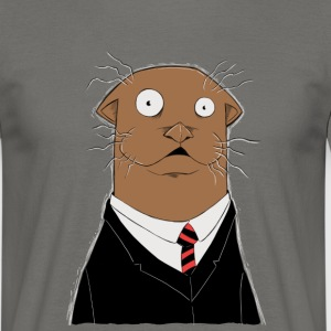 Office Otter - Männer T-Shirt