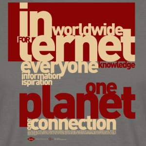 Internet-1 - Herre-T-shirt