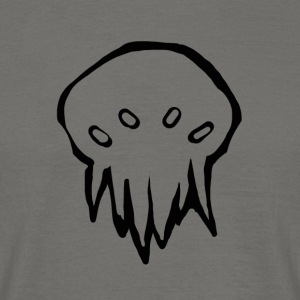 Tiny Cthulhu monster - Men's T-Shirt
