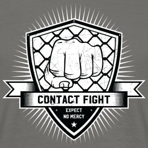 Contact Fight Vintage - Mannen T-shirt