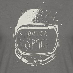 Outerspace - T-skjorte for menn
