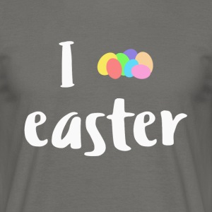 I egg Easter - Men's T-Shirt