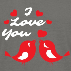 Turtledoves I love you - Men's T-Shirt