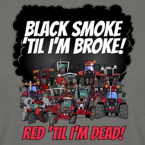 2016_black_smoke_red_IH_tshirt - T-skjorte for menn
