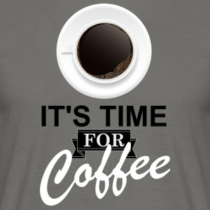 Coffee_time - Mannen T-shirt