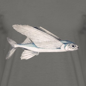 Schwalbe fish (flying fish) - Men's T-Shirt