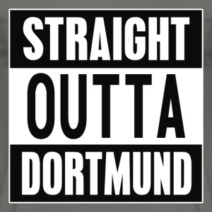 Straight Outta Dortmund - Men's T-Shirt