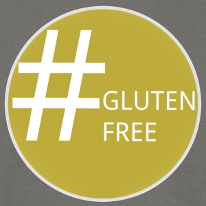 Hashtag Gluten Free - #glutenfree Design - Men's T-Shirt