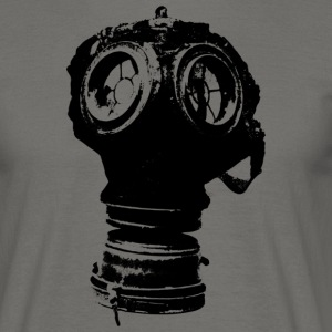 gas-mask2 - Mannen T-shirt