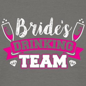 JGA - BRIDE DRINKING TEAM - Mannen T-shirt