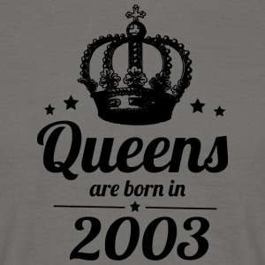 Queen 2003 - Mannen T-shirt