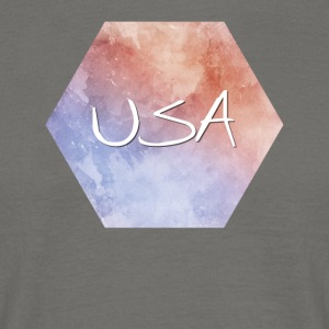 USA - USA - T-shirt herr
