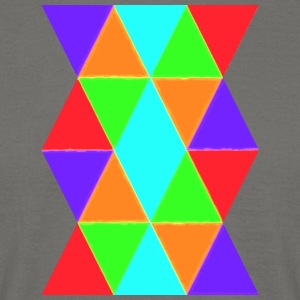 Colourful pattern - T-shirt herr