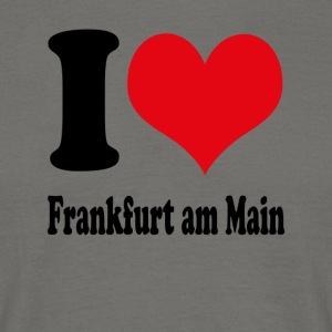 I love Frankfurt - Men's T-Shirt