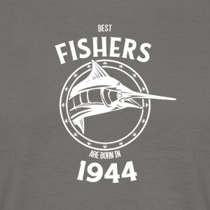 Present for fishers born in 1944 - Men's T-Shirt