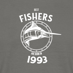 Present for fishers born in 1993 - Men's T-Shirt