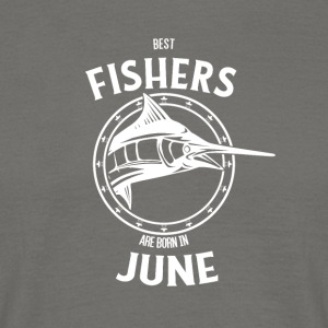 Present for fishers born in June - Men's T-Shirt