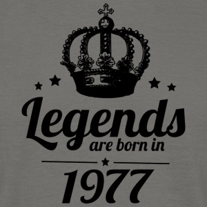 Legends 1977 - T-skjorte for menn