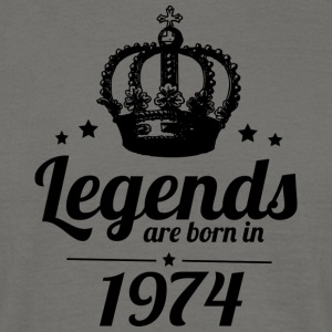 Legends 1974 - Men's T-Shirt
