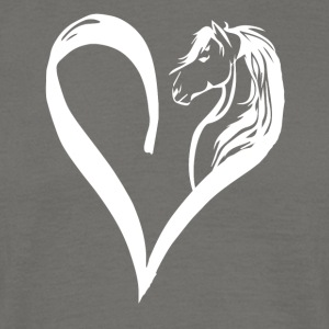 Horse in the heart - Men's T-Shirt