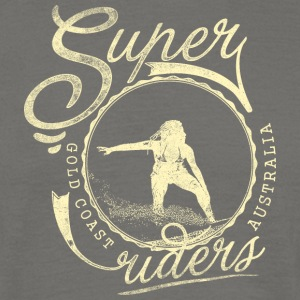 super surferen - T-skjorte for menn