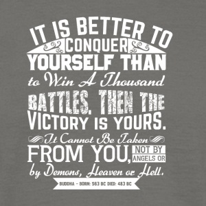 Conquer Yourself - Men's T-Shirt