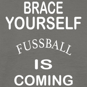 Brace Yourself Football is Coming - Blanc - T-shirt Homme