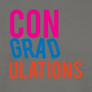 High School / Graduation: Gefeliciteerd - Mannen T-shirt