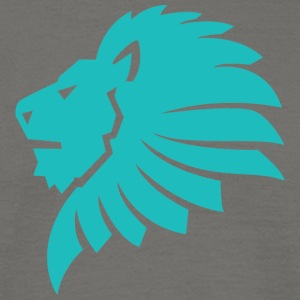 Lion blue - Men's T-Shirt