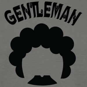 GENTLEMAN curvy black - Men's T-Shirt