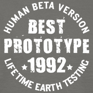 1992 - The birth year of legendary prototypes - Men's T-Shirt
