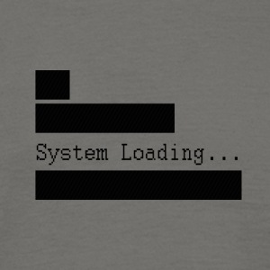 System_Loading - T-skjorte for menn