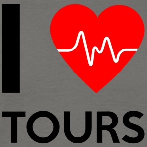 I Love Tours - I love Tours - Men's T-Shirt