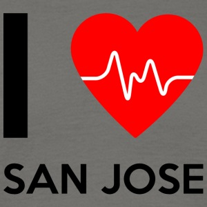 I Love San Jose - I love San Jose - Men's T-Shirt
