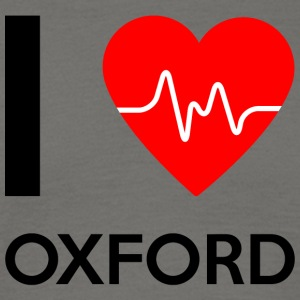 J'aime Oxford - I love Oxford - T-shirt Homme