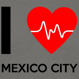 I Love Mexiko City - Ich liebe Mexiko City - Männer T-Shirt