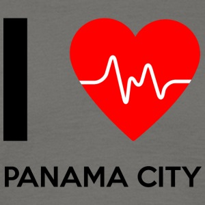 I Love Panama City - jeg elsker Panama City - T-skjorte for menn