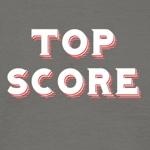 Top Score - Red / Black - Men's T-Shirt