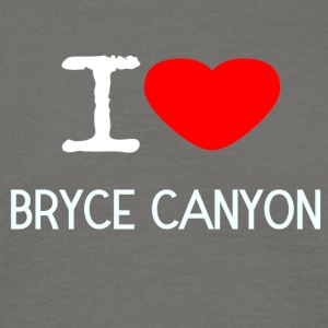 I LOVE Bryce Canyon - Herre-T-shirt