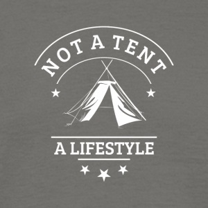 not_a_tent_wei-- - T-skjorte for menn