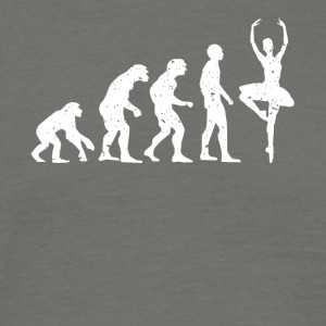 EVOLUTION BALLERINA! - Männer T-Shirt