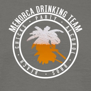 Shirt party holiday - Menorca - Men's T-Shirt