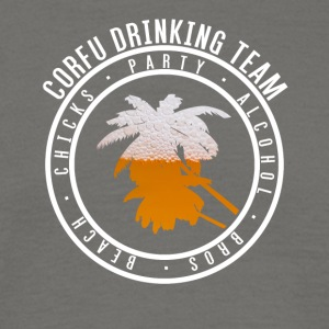 Shirt party holiday - Corfu - Men's T-Shirt