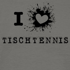 iLove table tennis - T-shirt herr