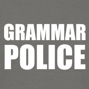 POLICE GRAMMAIRE - T-shirt Homme