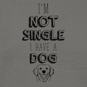 Single dog - Men's T-Shirt