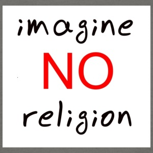 no religion - Men's T-Shirt