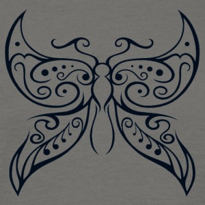 Butterfly Transparent1 - Men's T-Shirt