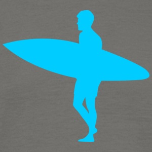 Blue Surfer - Men's T-Shirt